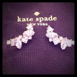 Kate Spade Earrings/Ear Crawler